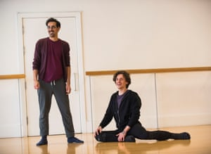 Arthur Pita, with dancer Sergei Polunin – Pita will pair with Twyla Tharp.