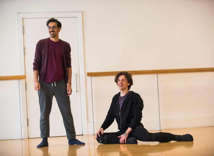 Arthur Pita, with dancer Sergei Polunin – Pita will pair with Twyla Tharp.