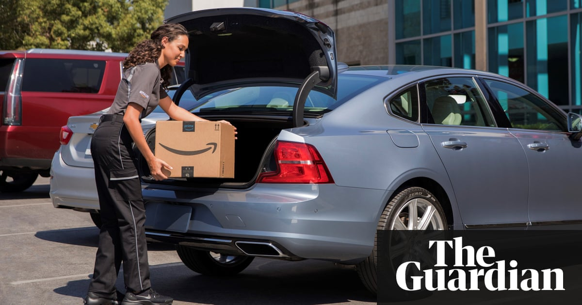 Amazon now delivers packages straight to car boots