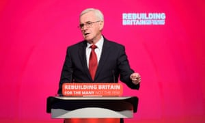 John McDonnell at the Labour conference