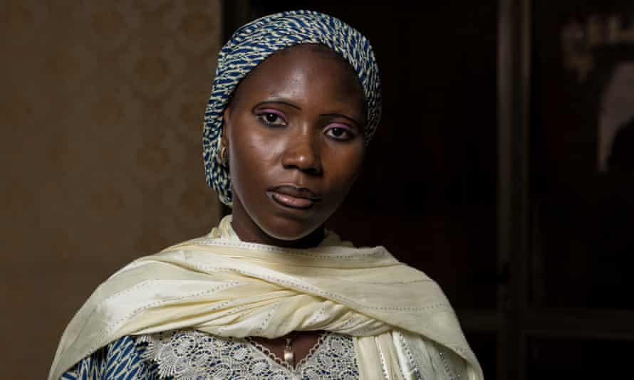 Naomi Adamu, the Chibok student who led resistance among the women to their Boko Haram captors.
