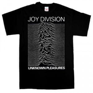 Joy Division T-shirt.