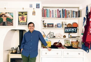 Chef Martin Morales at home in his kitchen: 'We love this house more than any other house we've ever lived in.'