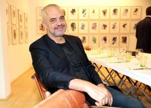 Edi Rama at Munich's Galerie Kampl.