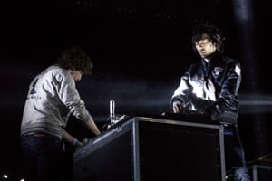 Justice play the West Holts stage
