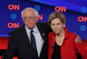 Bernie Sanders and Elizabeth Warren agreed not to attack each other during a private meeting in 2018.