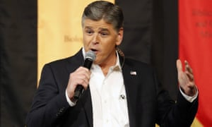 Sean Hannity has hammered home a discredited conspiracy theory about a former Democratic National Committee employee.