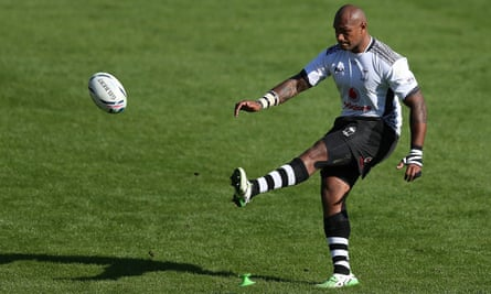 Nemani Nadolo will almost certainly be the biggest goal-kicker at the Rugby World Cup.