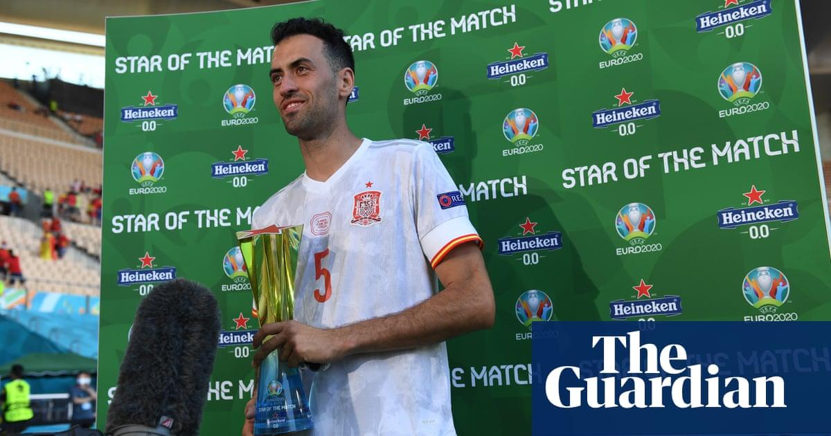 'His game was incredible': Sergio Busquets repays Luis Enrique's faith
