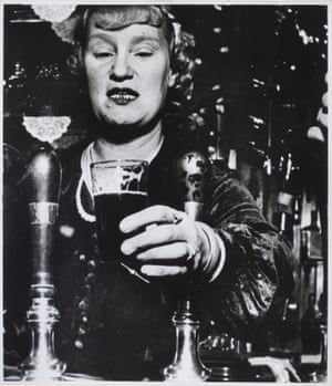 Barmaid at the Crooked Billet, Tower Hill, London, 1939, by Bill Brandt