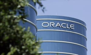 The Oracle headquarters in Redwood City, California.