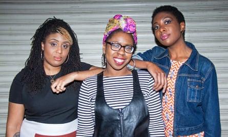 Feminist punk band Big Joanie.
