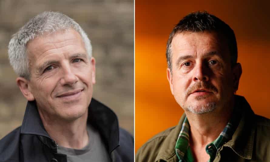 Patrick Gale and Mark Billingham