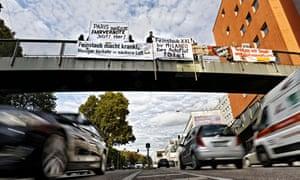 Stuttgart protest