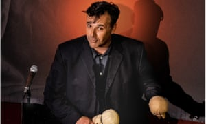 Rob Newman in The Brain Show at Soho Theatre