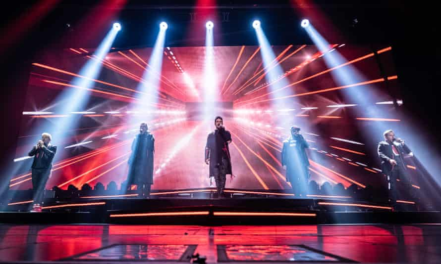 Backstreet Boys at Manchester Arena