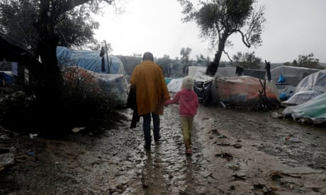 'Moria is a hell': new arrivals describe life in a Greek refugee camp