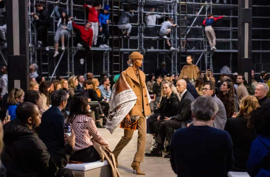 The street-style clothes had an authenticity from being rooted in Tisci's own experience.