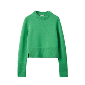 Cosy up with Cos's recycled cashmere collection for men and women, with a small edit including this jumper, made using recycled cashmere that's repurposed to create a new design. £135, cosstores.com