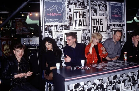 The Fall in London, 1988.