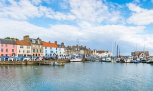 Anstruther's harbour.