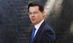 The Northern Ireland secretary James Brokenshire