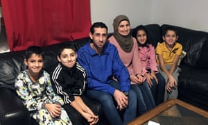 The Alhajy family who live in Yellowknife, Canada.