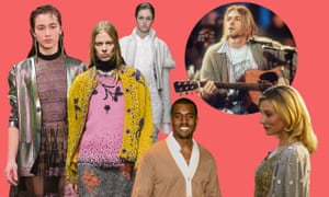 Cardies on the catwalk at Christopher Kane, Prada and Burberry; Kanye West, Curt Cobain and Cate Blanchett.