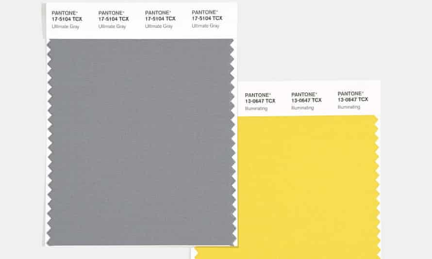 Pantone Color of the Year Swatches