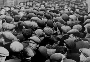 Unemployment, The Stand, Liverpool Docks, November 1962