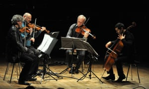 the Kronos Quartet perform WTC 9/11.