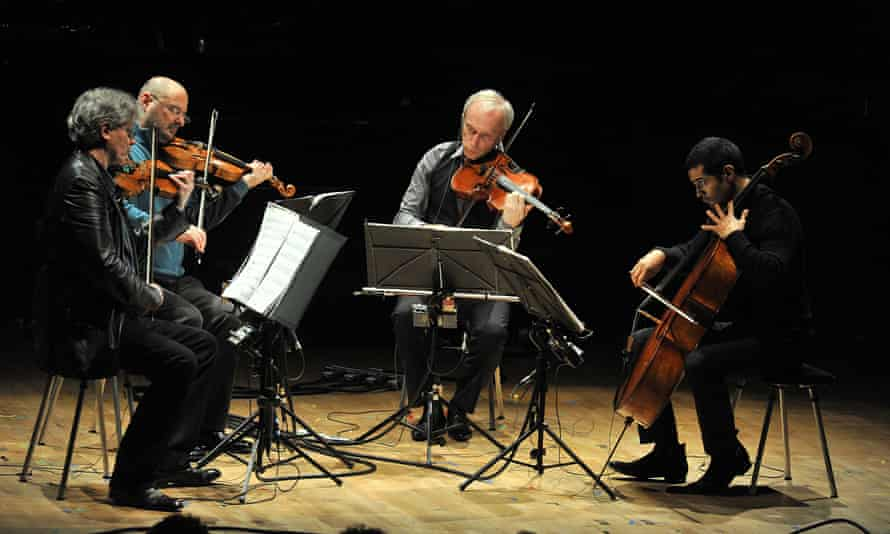 the Kronos Quartet perform WTC 9/11.