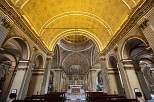 Recess disguised as a grand space … the church of Santa Maria Presso San Satiro in Milan.