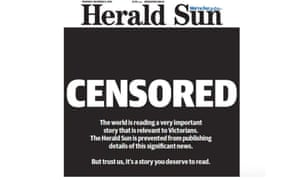 The Herald Sun's front page after the George Pell verdict in December