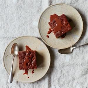 Thomasina Miers' date and tahini cake