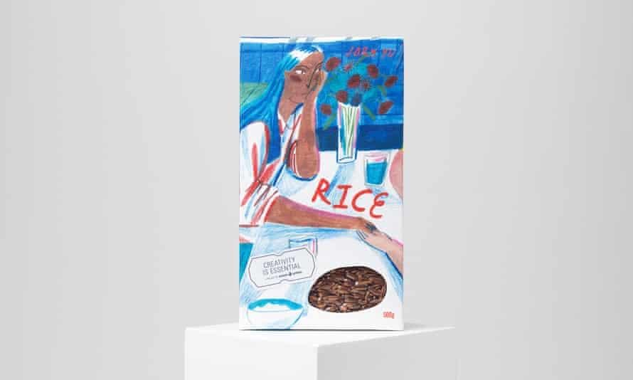 A rice box by Joey Yu.