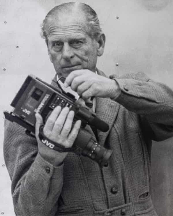 Early adopter … the duke was an enthusiastic amateur film-maker.