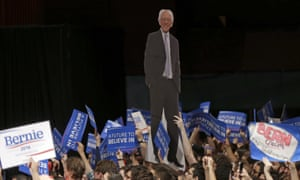 Bernie Sanders for the first time won in a state where a quarter of voters are African American.