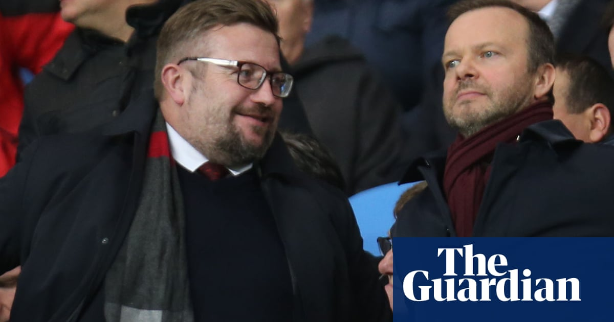 Richard Arnold leads race to replace Ed Woodward at Manchester United