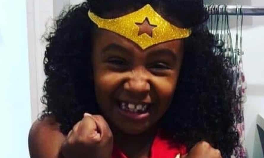 Agatha Felix dressed as Wonder Woman