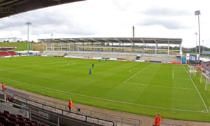 The uncompleted east stand