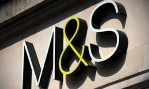 M&S logo on store