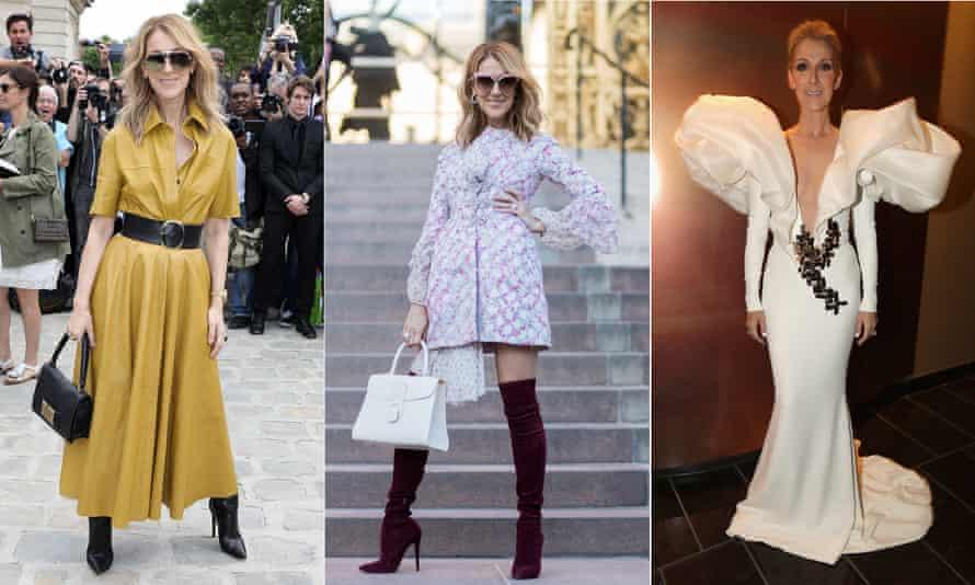 Reborn fashion icon Celine Dion.