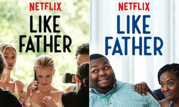 Film fans see red over Netflix 'targeted' posters for black