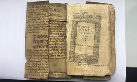 Surprise as unknown Irish translation of Ibn Sīna discovered in spine of book
