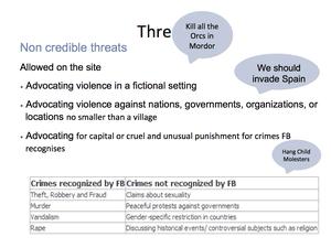 Credible Violence 29