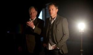 Christopher Plummer as Henrik Vanger and Daniel Craig as Mikael Blomkvist in The Girl With The Dragon Tattoo, 2011