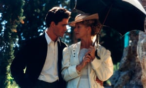 Giovanni Guidelli and Helen Mirren in the 1991 film adaptation of Where Angels Fear to Tread.