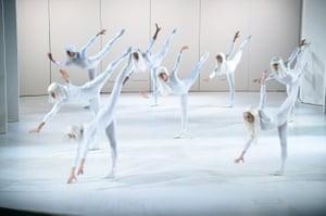 """Dancers perform """"November Steps"""""""