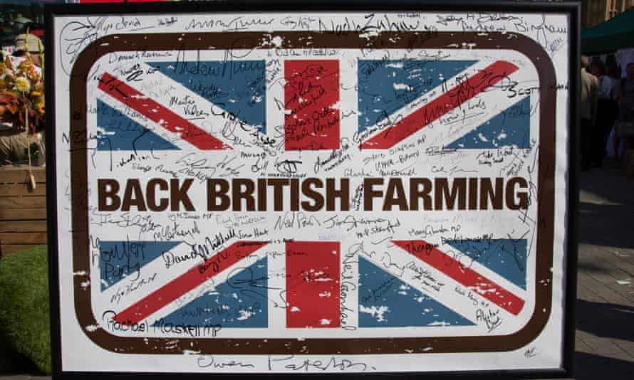 A National Farmers Union campaign urging MPs to back British agriculture after Brexit.